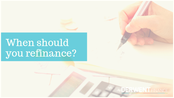 We Recommend to Refinance When...
